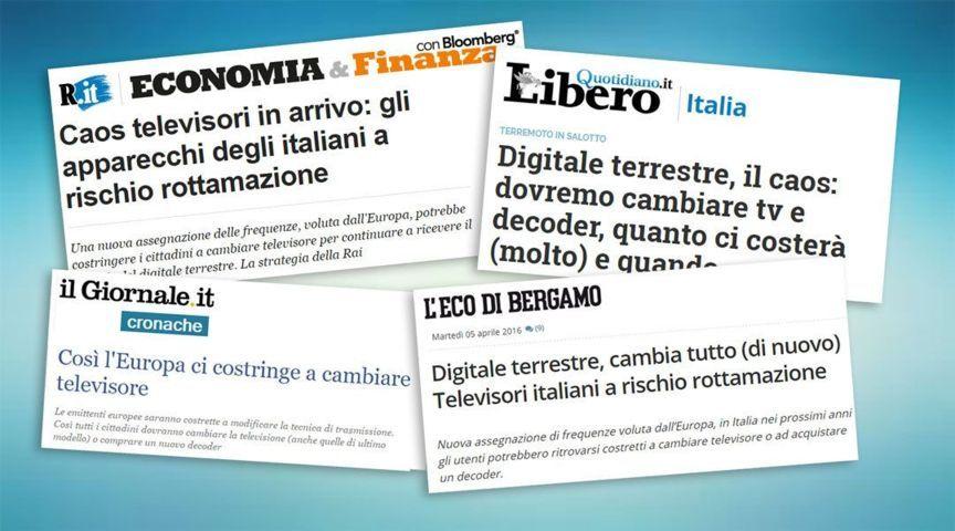 Articoli obsoleti per il tuo giornale online