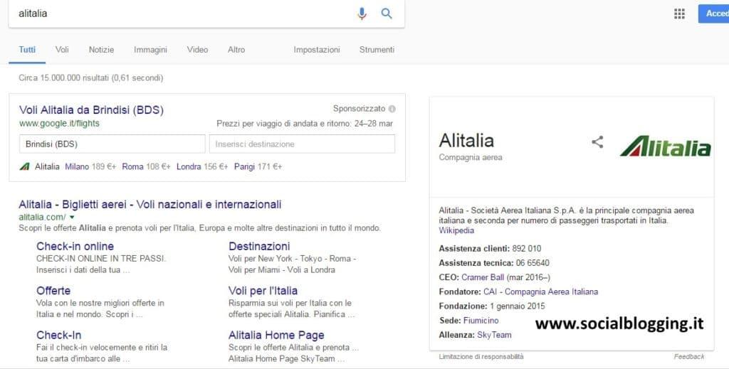 Alitalia, acquistare un biglietto aereo