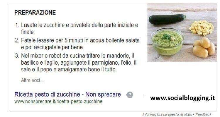 Pesto di zucchine, ricetta