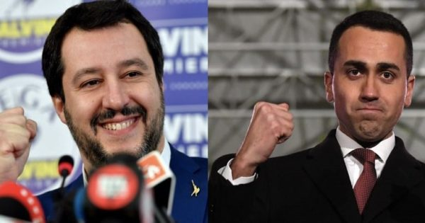 Come utilizzano Facebook e Twitter, Salvini e Di Maio?