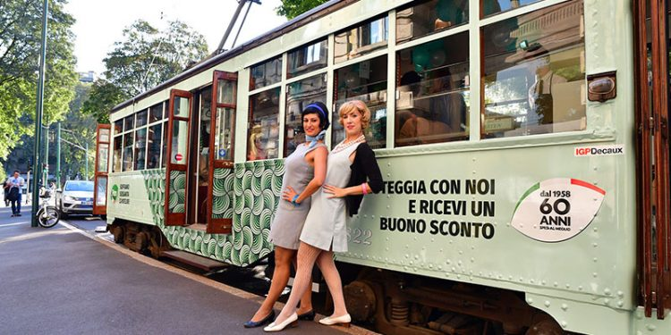 Pam festeggia i suoi 60 anni con un tram Limited Edition