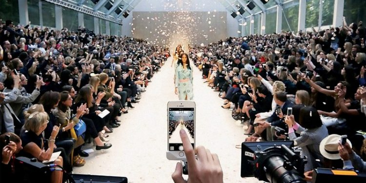 La Milano fashion week é protagonista dei social