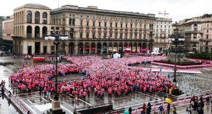 Lancia Ypsilon è stata protagonista il 28 ottobre della Pink Parade
