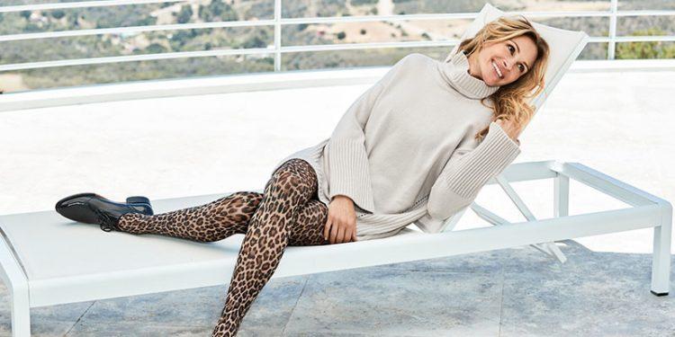 Julia Roberts volto di Calzedonia per la collezione invernale