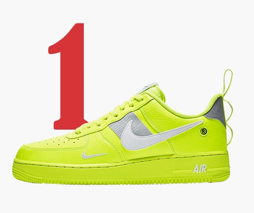 Le Nike Air Force 1 '07 LV8 Utility Volt