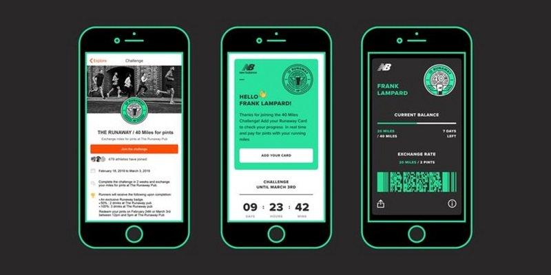 """ew Balance ha collaborato con l'app di fitness Strava per aprire """"The Runaway"""""""
