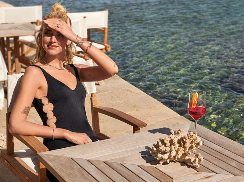 Calzedonia e Chiara Ferragni, stile, freschezza ed eleganza.