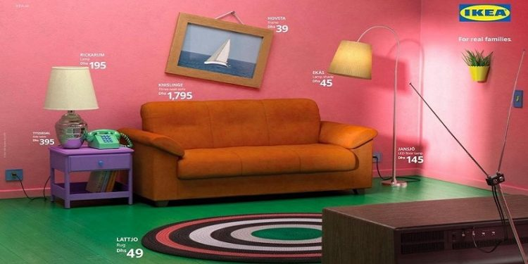 kea ha ricreato le stanze dei Simpsons, di Friends e di Stranger Things con i suoi mobili