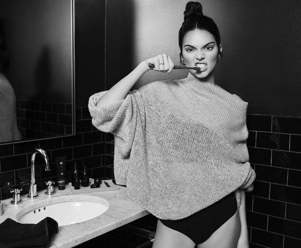 Kendall Jenner si lancia nel mercato dell'oral care