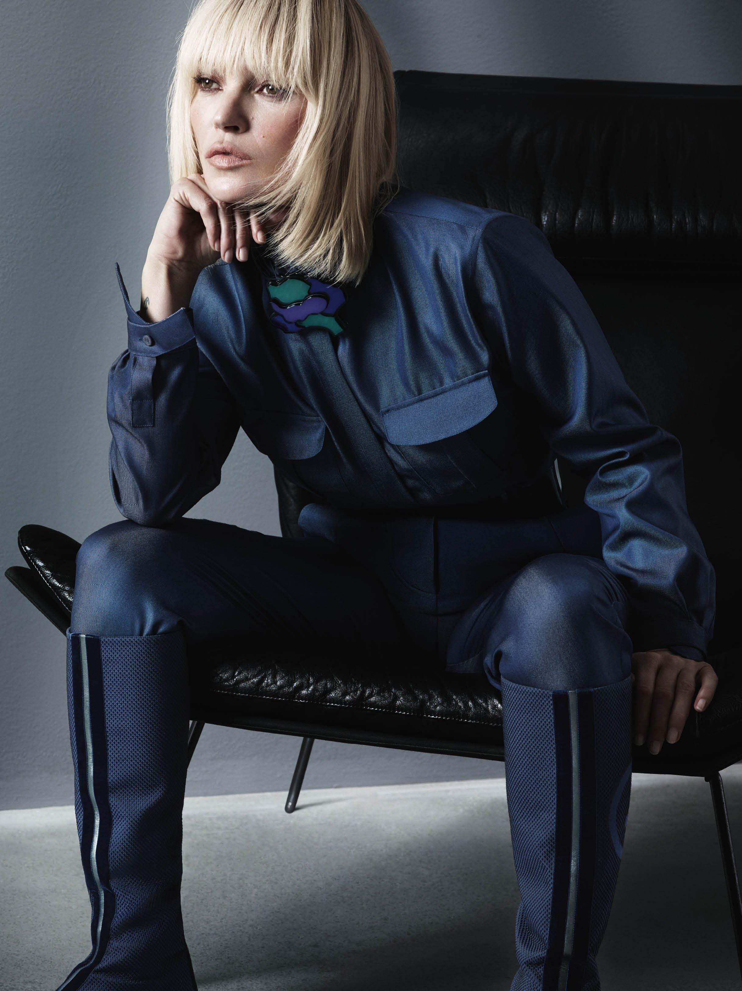 Armani e Kate Moss connubio perfetto